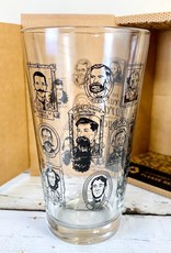 Cognitive Beards of Science Pint Glass