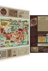 TrueSouthPuzzle Route 66 500 Piece Puzzle