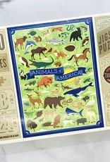 Animals of North America 500 Piece Puzzle