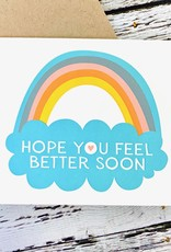 Fugu Fugu Press Feel Better Soon Rainbow Card