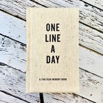 Canvas One Line a Day A Five Year Memory Book
