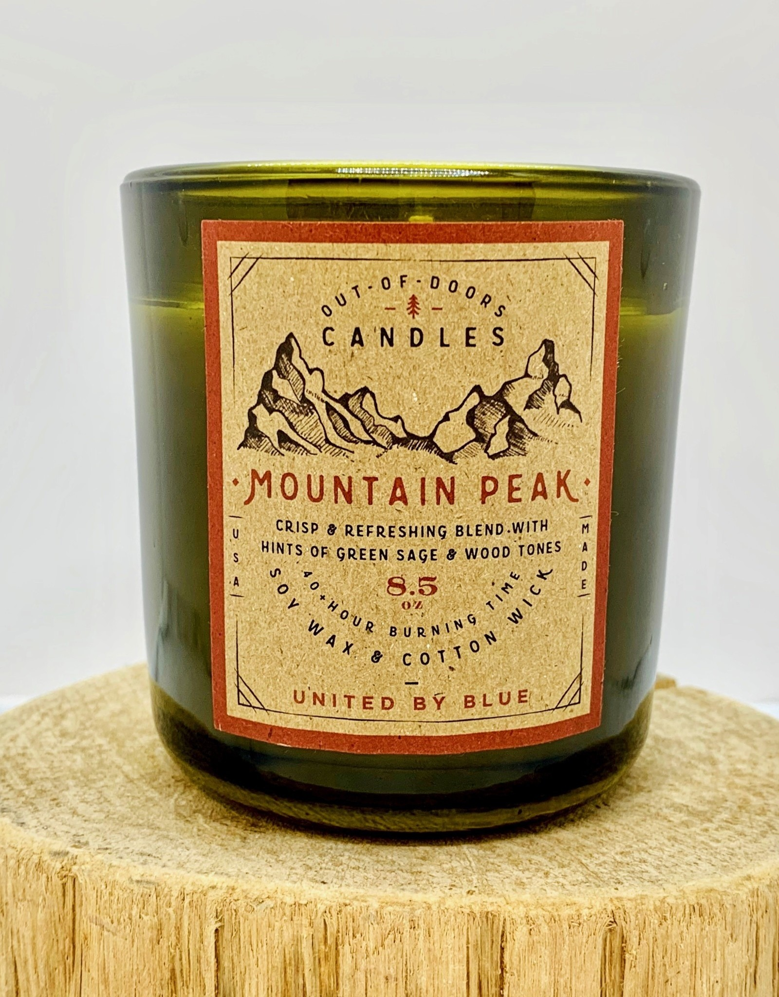 United by Blue Out-of-Doors 8.5oz Candle