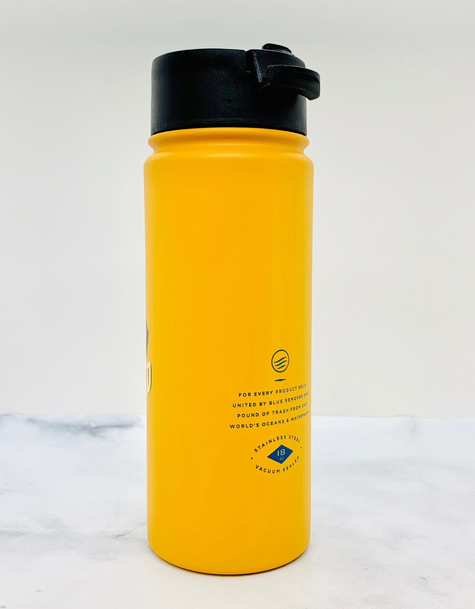 United by Blue Rise & Grind 18oz Travel Bottle
