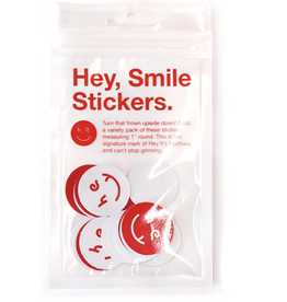 Hey Smile Sticker 20 Pack