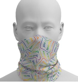 You Are Beautiful You Are Beautiful Neck Gaiter
