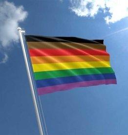 FLAGIMPORTERS Philadelphia Rainbow 3'x5' Flag