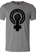 Mik Mocha Angry Women Will Change The World Unisex Tee