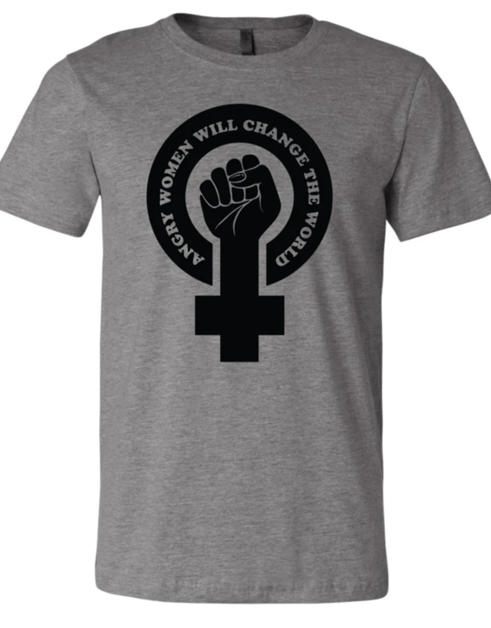 Mik Mocha Angry Women Will Change The World Unisex Tee