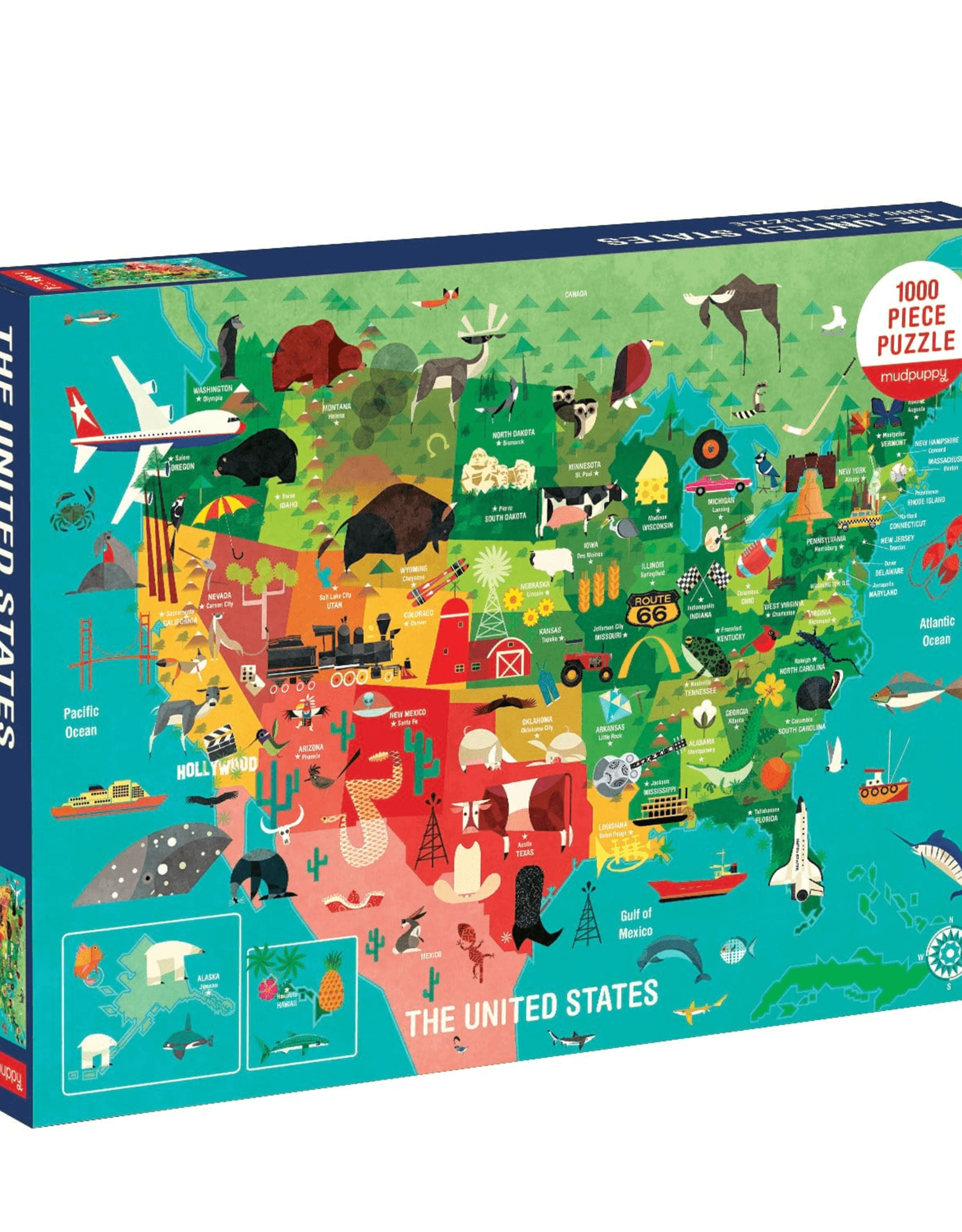 The United States 1000 piece Puzzle