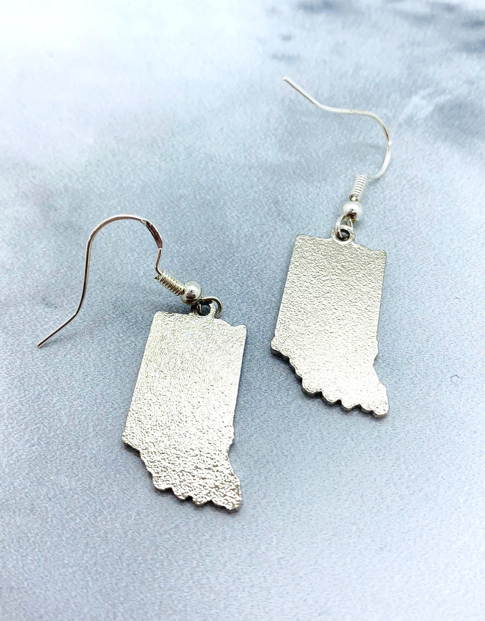SUNDAY AFTERNOON HOUSEWIFE Rainbow Indiana Earrings Sterling Silver Ear Wire