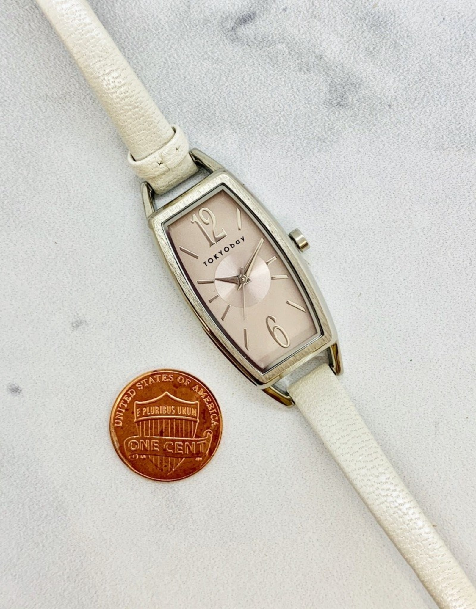 Lavere White Watch