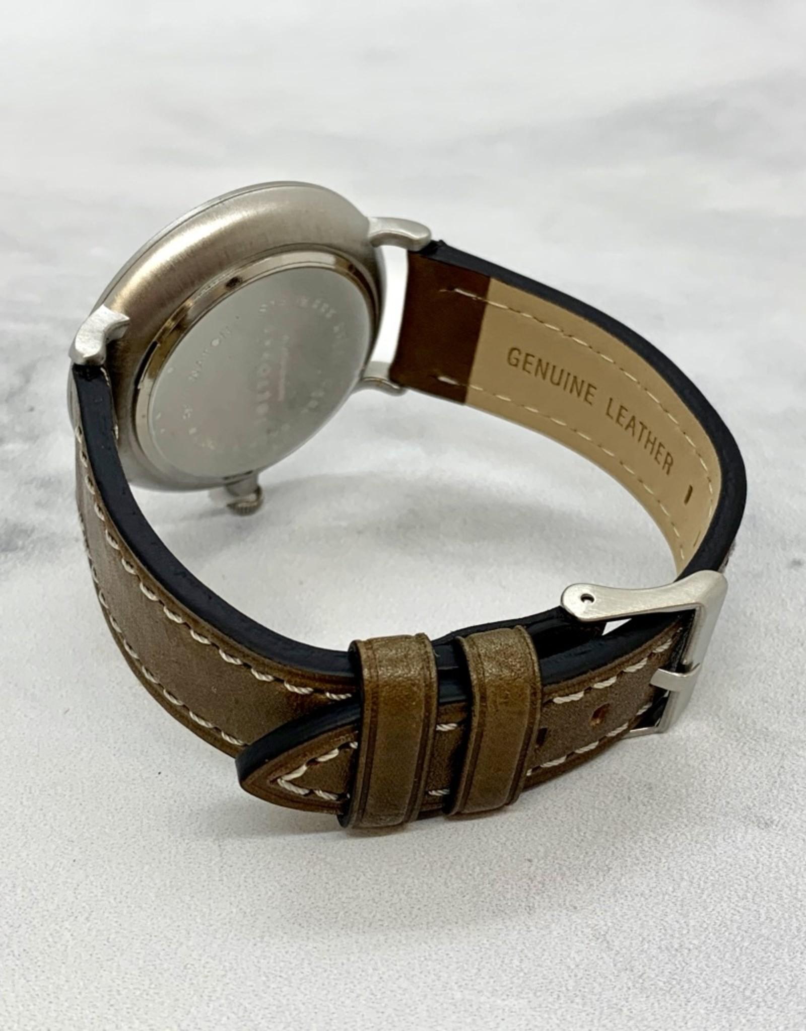 Noah Nato Watch, Grey/Vintage Taupe