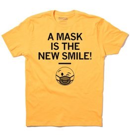 A Mask Is The New Smile Unisex Tee