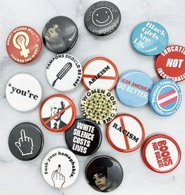 """1.25"""" Mik Mocha Buttons"""