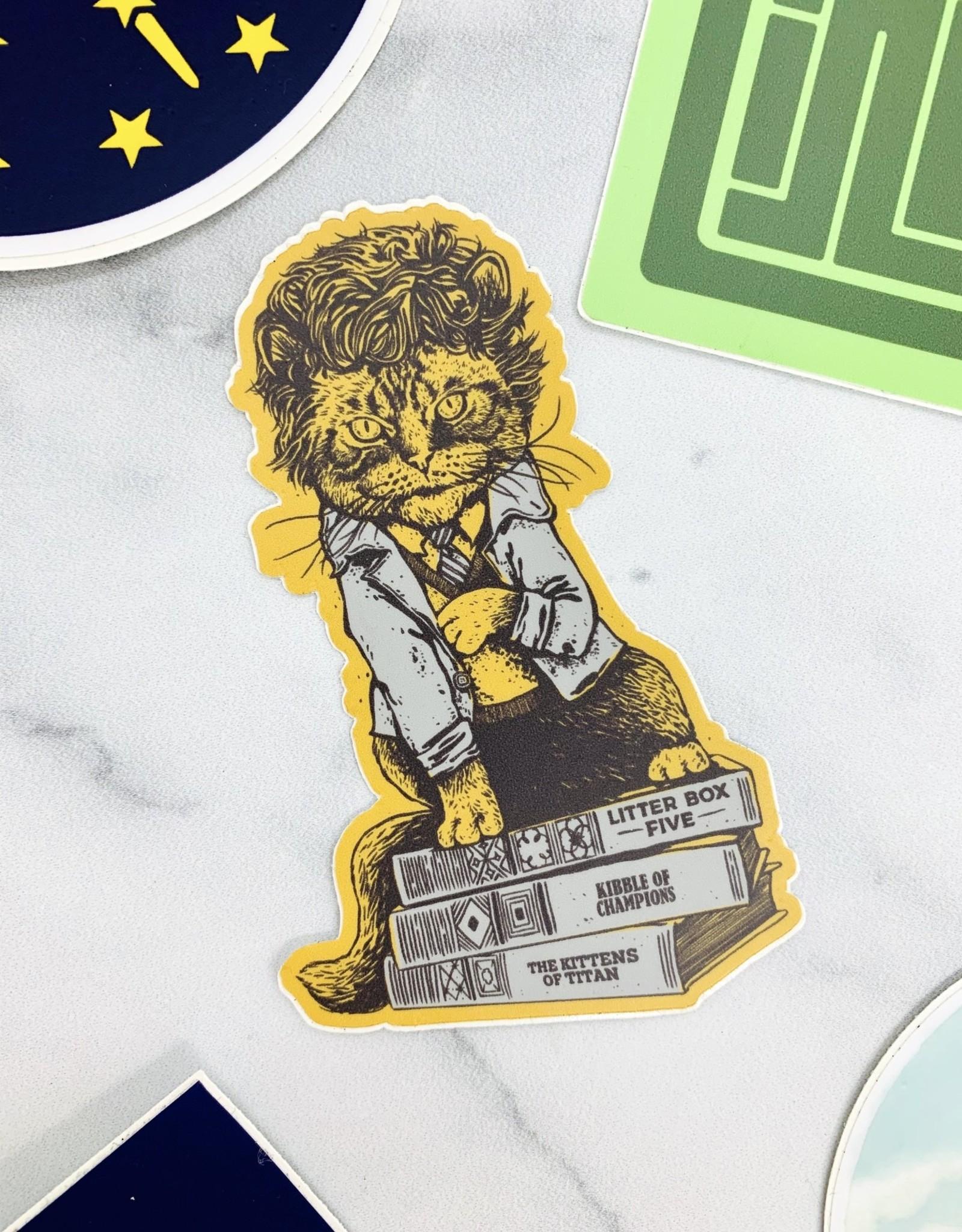Cat Vonnegut Sticker