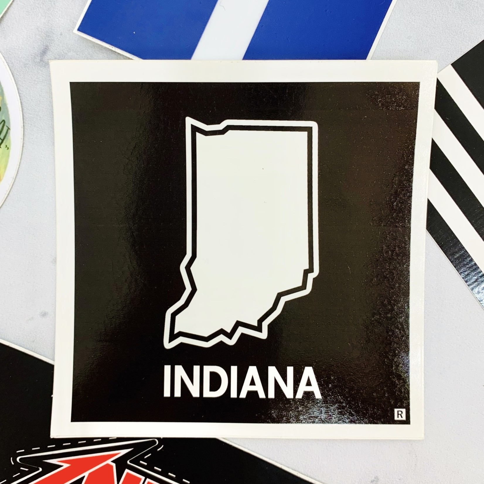 Indiana Outline Sticker