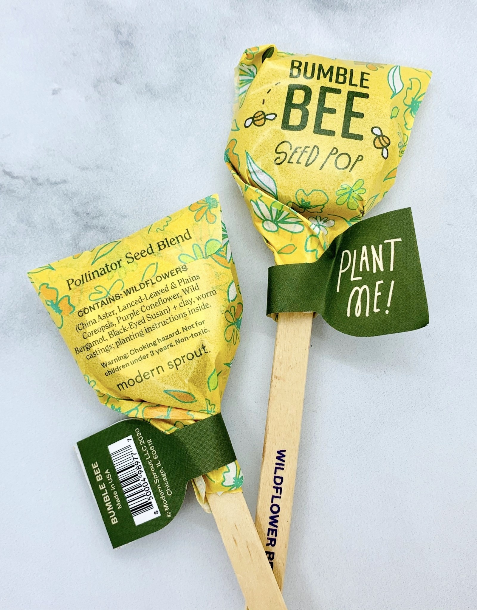 Modern Sprout Pollinator Seed Pops