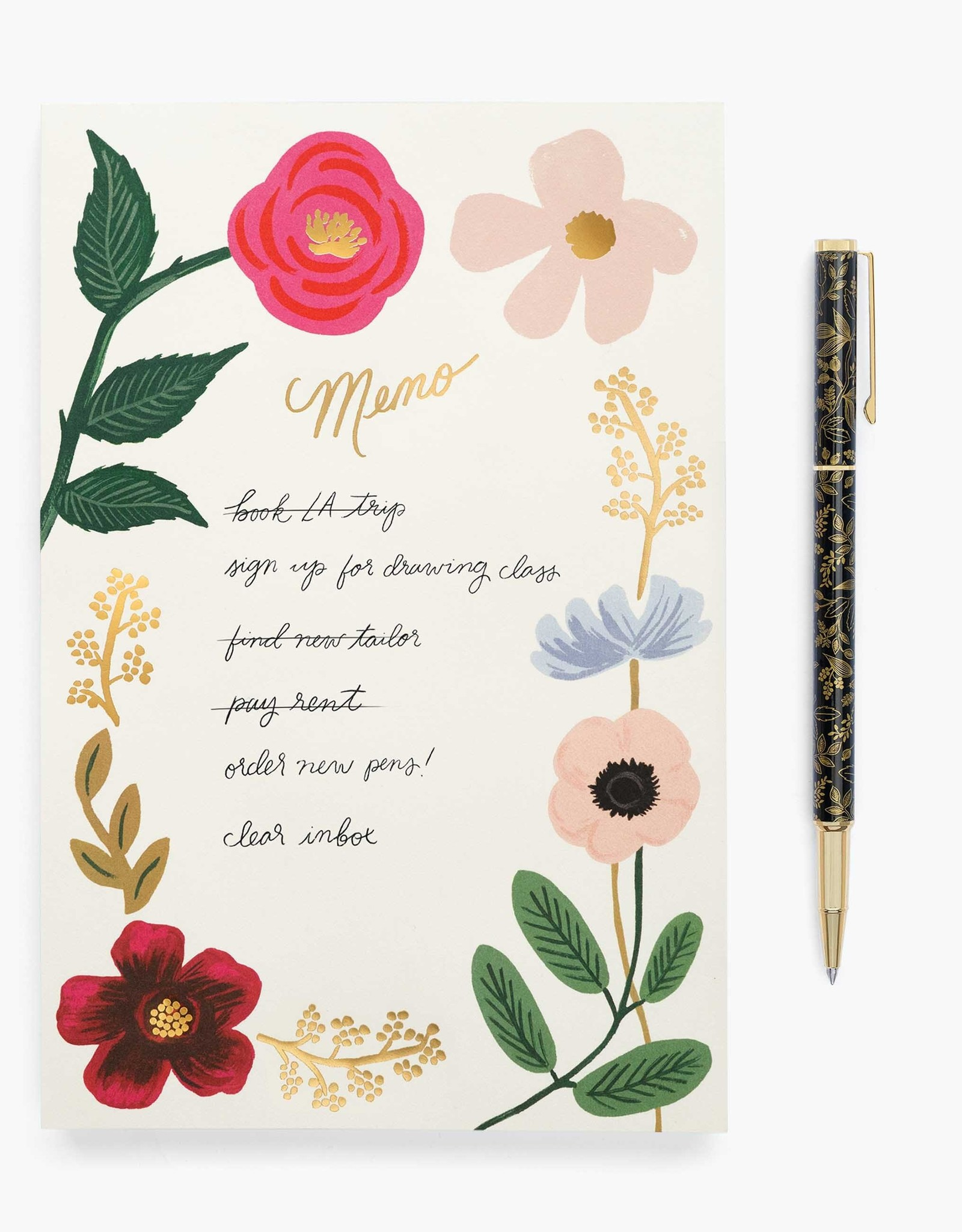 Rifle Paper Co Rifle Paper Memo Notepads