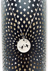 """EVERYDAY Lithograph Photo Pendant on 18"""" Cord Necklace"""