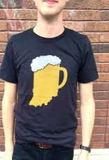 The Shop Indiana Beer Mug Tee