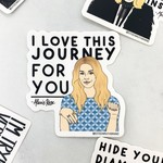 Alexis Journey Sticker