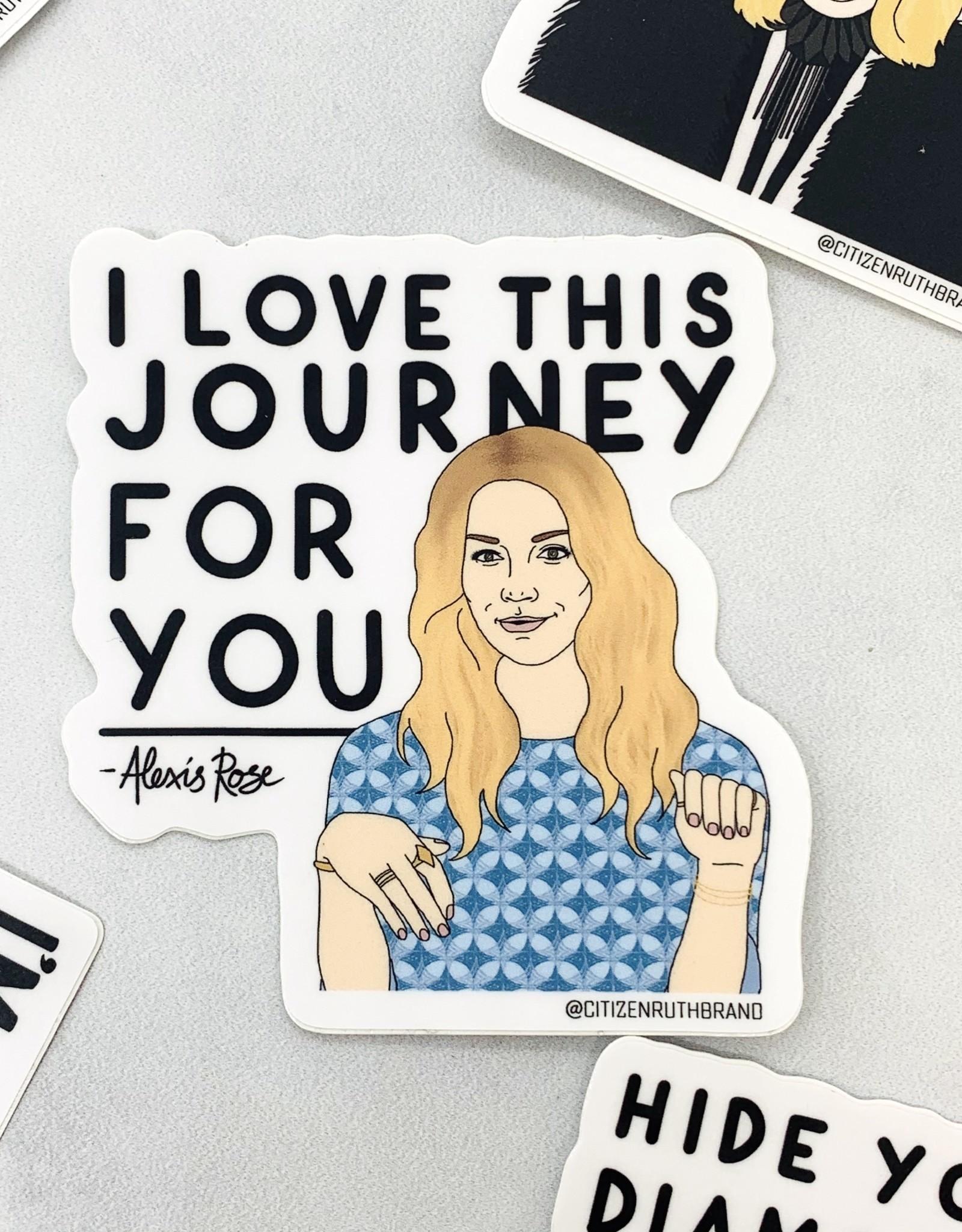 Citizen Ruth Alexis Journey Sticker