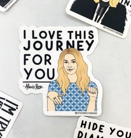 Alexis Journey Sticker