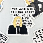 Moira World Falling Apart Sticker