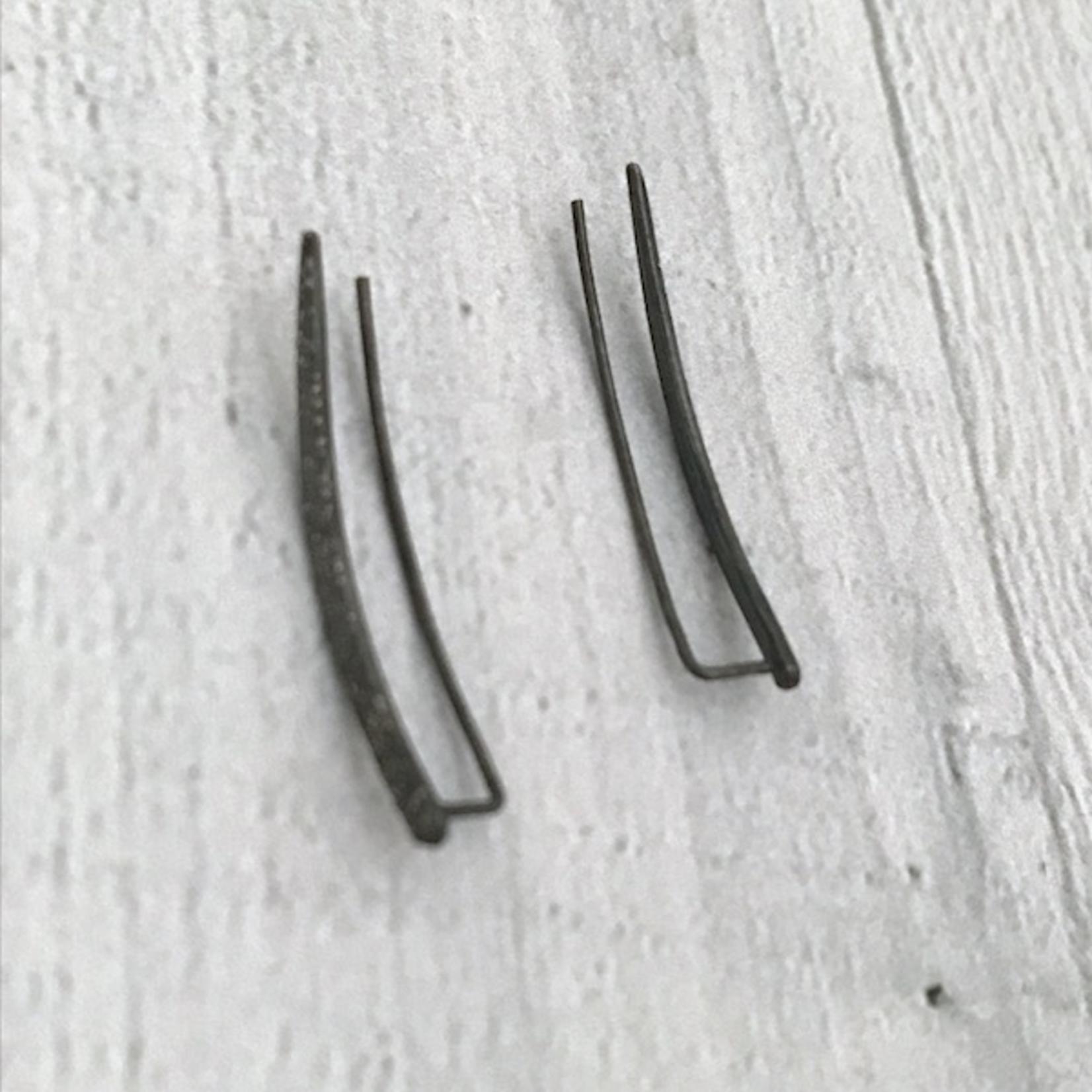 Diamond Dusted Climber Earrings