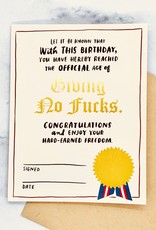 Decree Bday Card