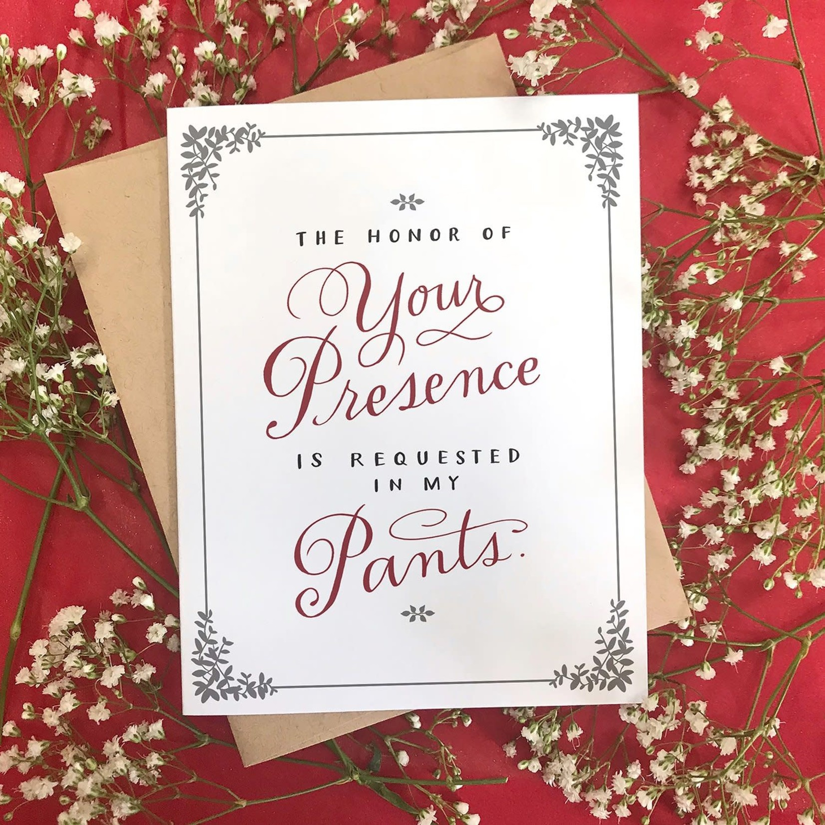 Presence in My Pants Card