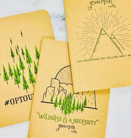 Wilderness Notebooks, Set of 3