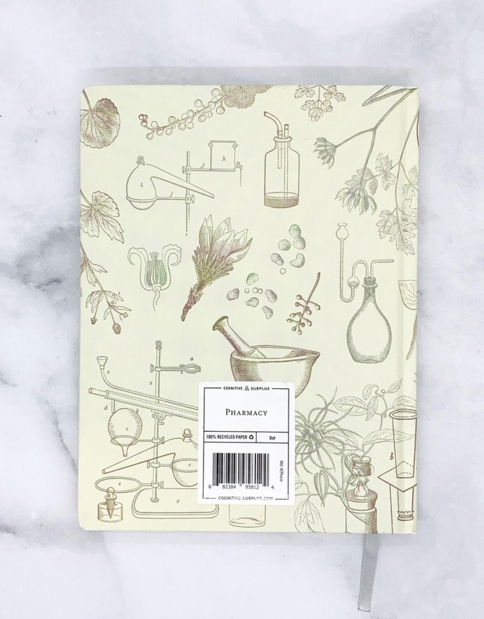 Cognitive Pharmacy Hardcover Journal Dot Grid