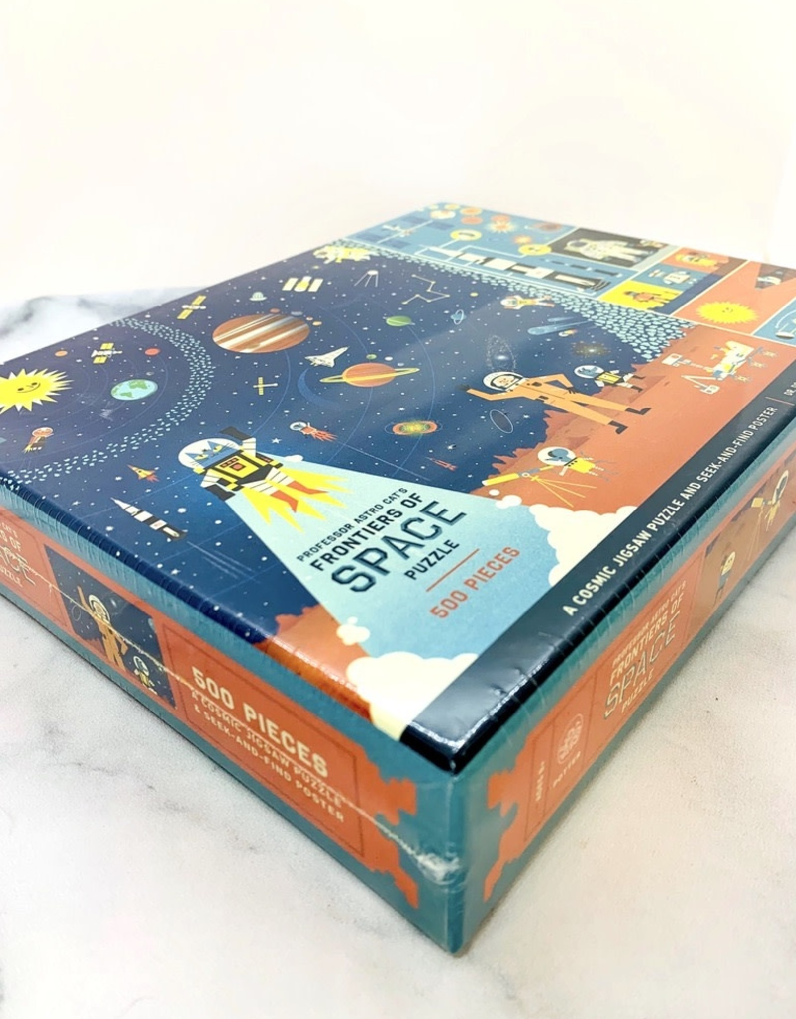 Professor Astro Cat's Frontiers of Space 500 Piece Puzzle
