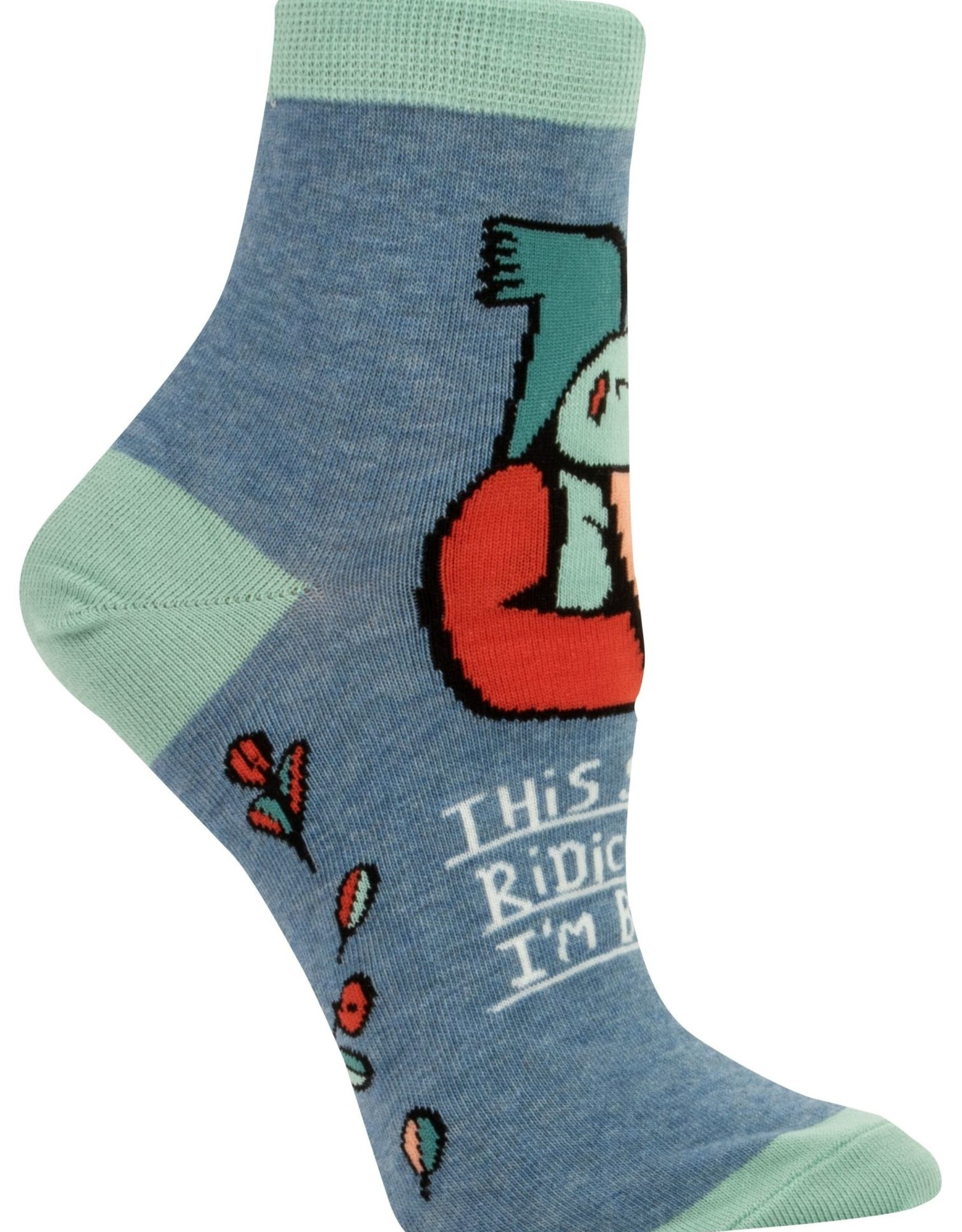 Shit is Ridiculous Ankle Socks