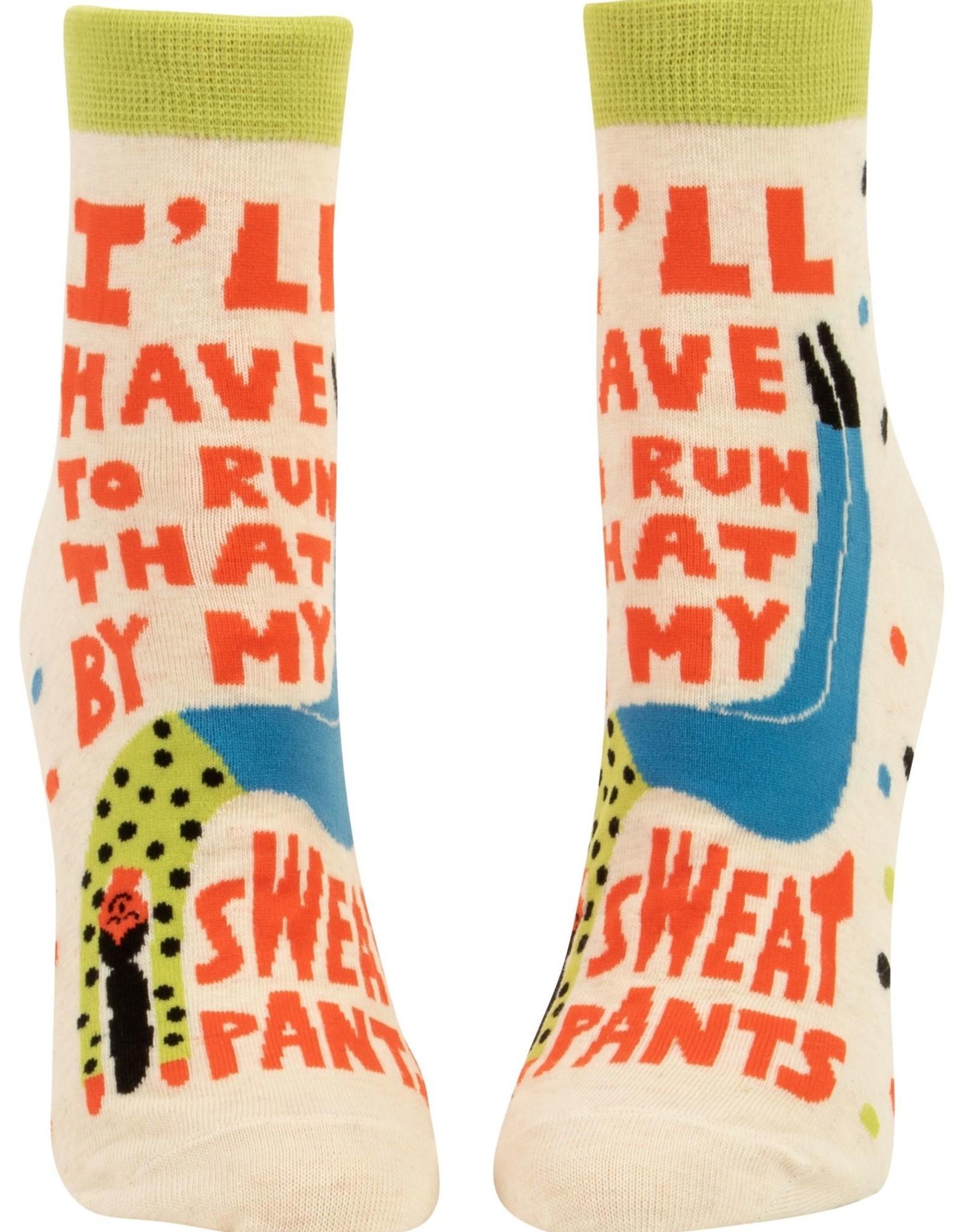 BlueQ My Sweatpants Ankle Socks