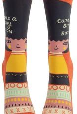 Bitchy Button Women's Crew Socks