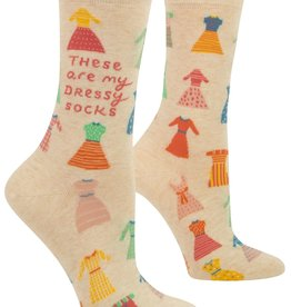 BlueQ My Dressy Socks Women's Crew Socks