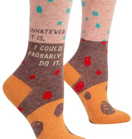 BlueQ Whatever It Is Women's Crew Socks