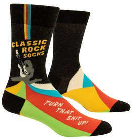 BlueQ Classic Rock Men's Socks