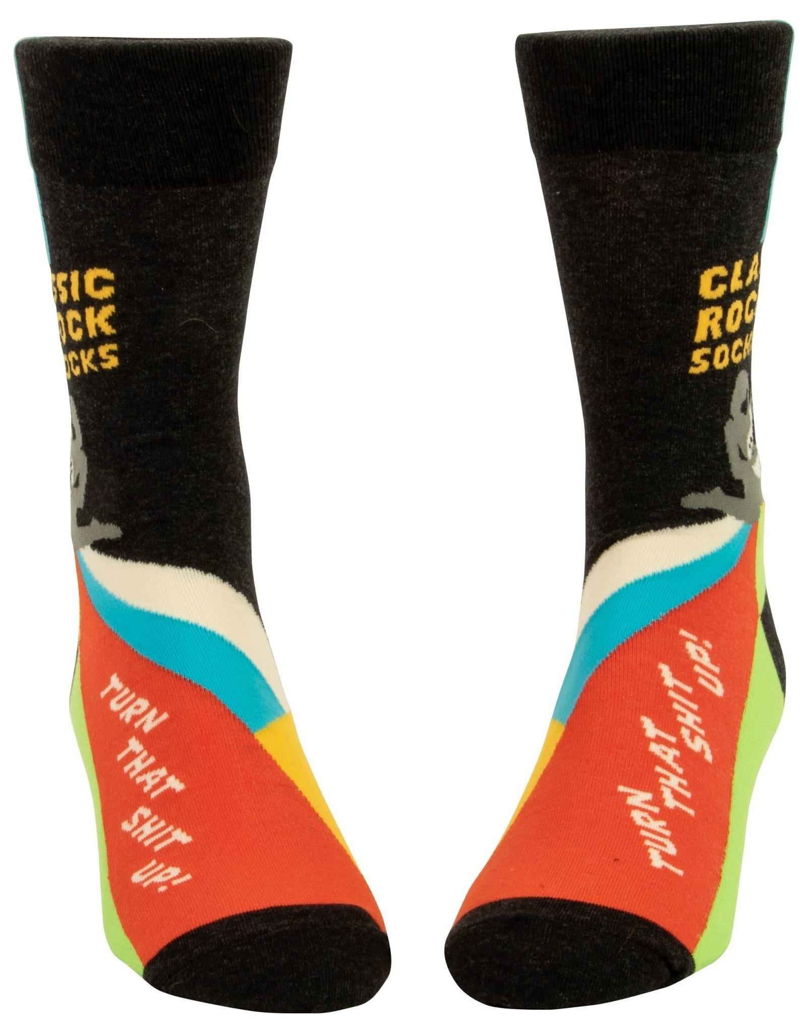 BlueQ Classic Rock Men's Socks