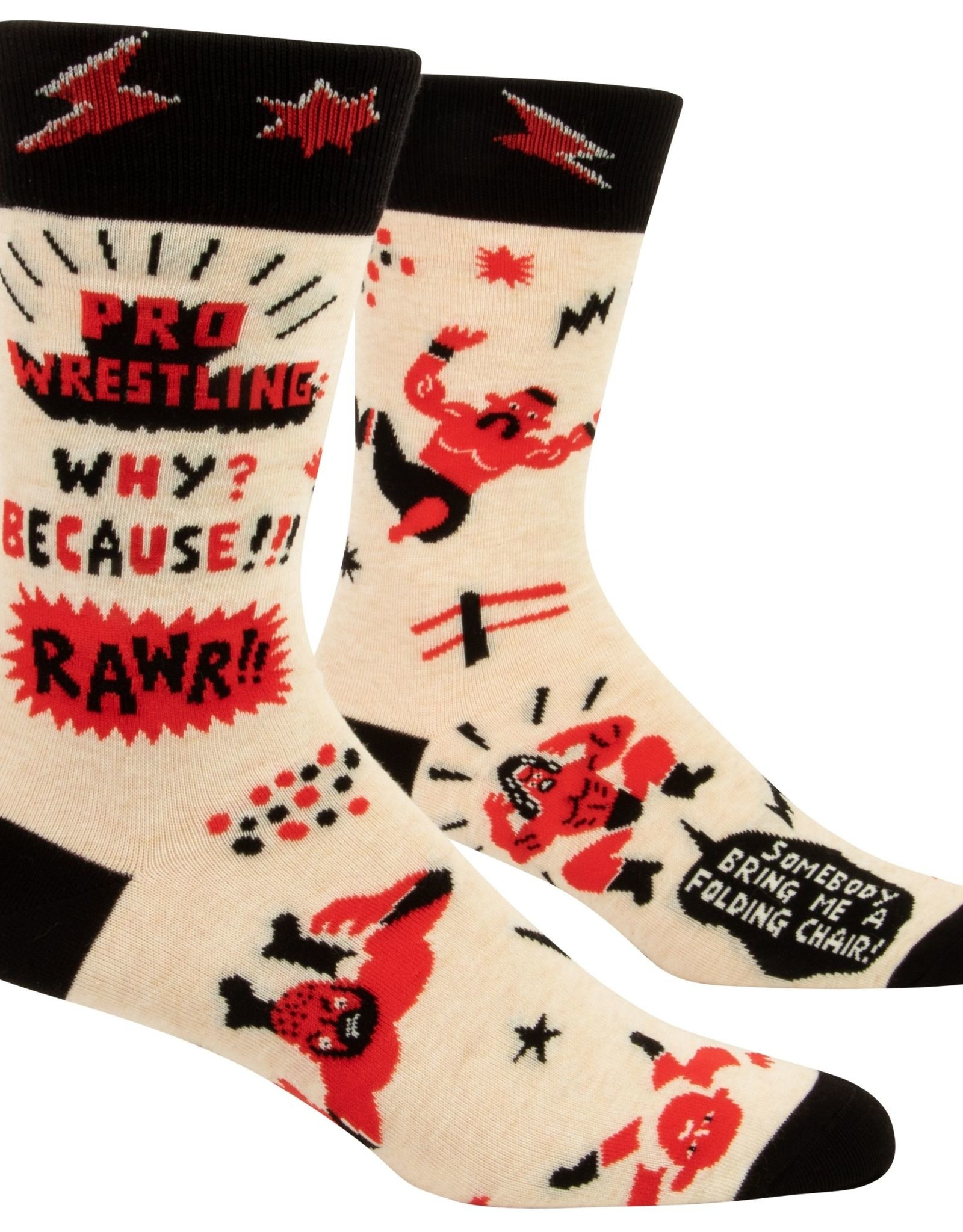 Pro Wrestling Men's Socks