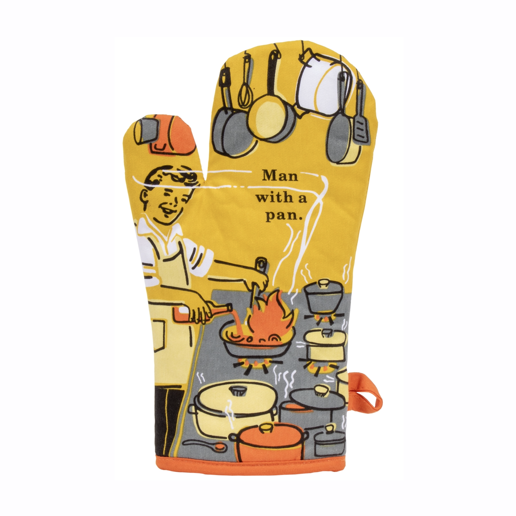 Blue Q Oven Mitts