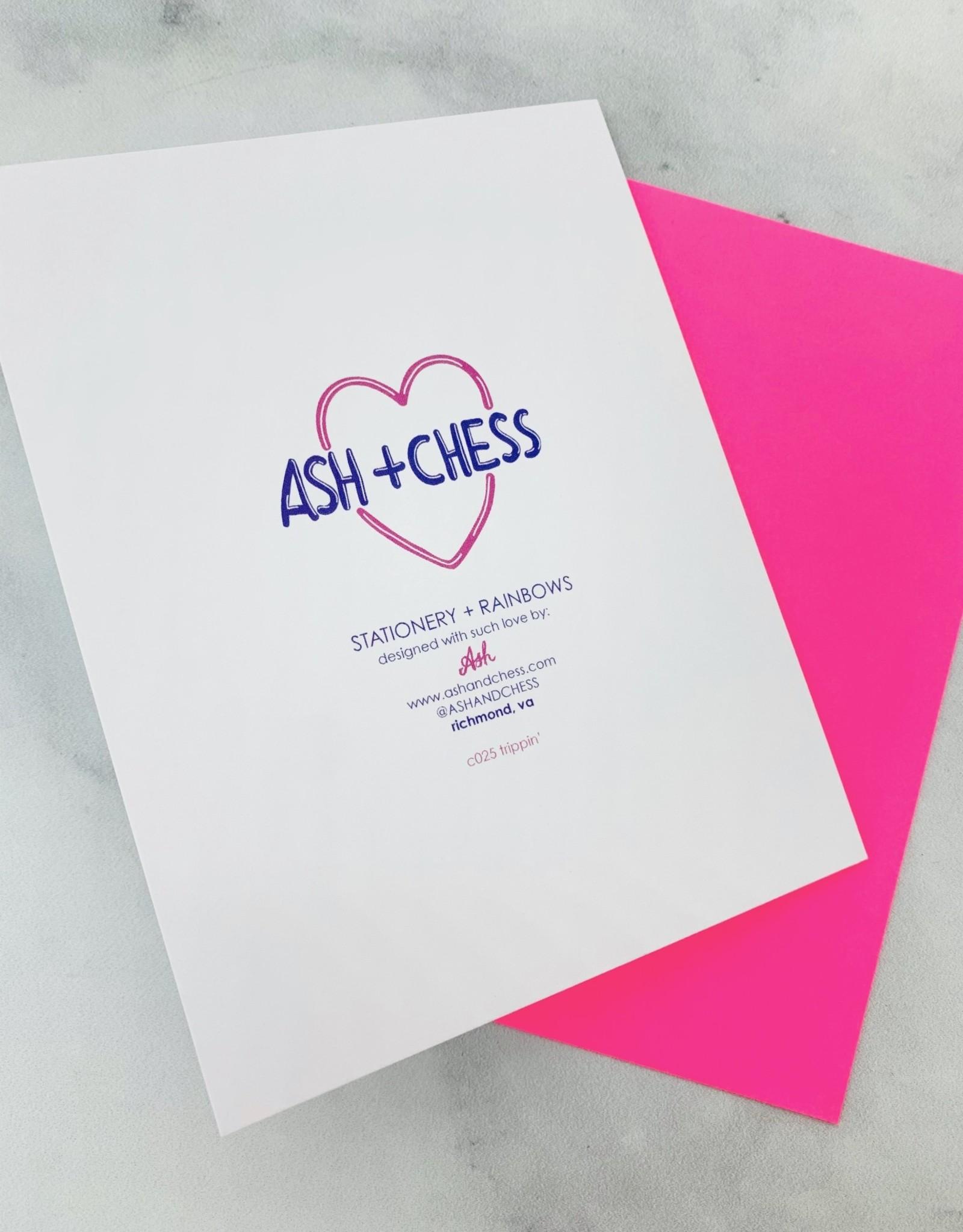 ash + Chess Trippin' Card