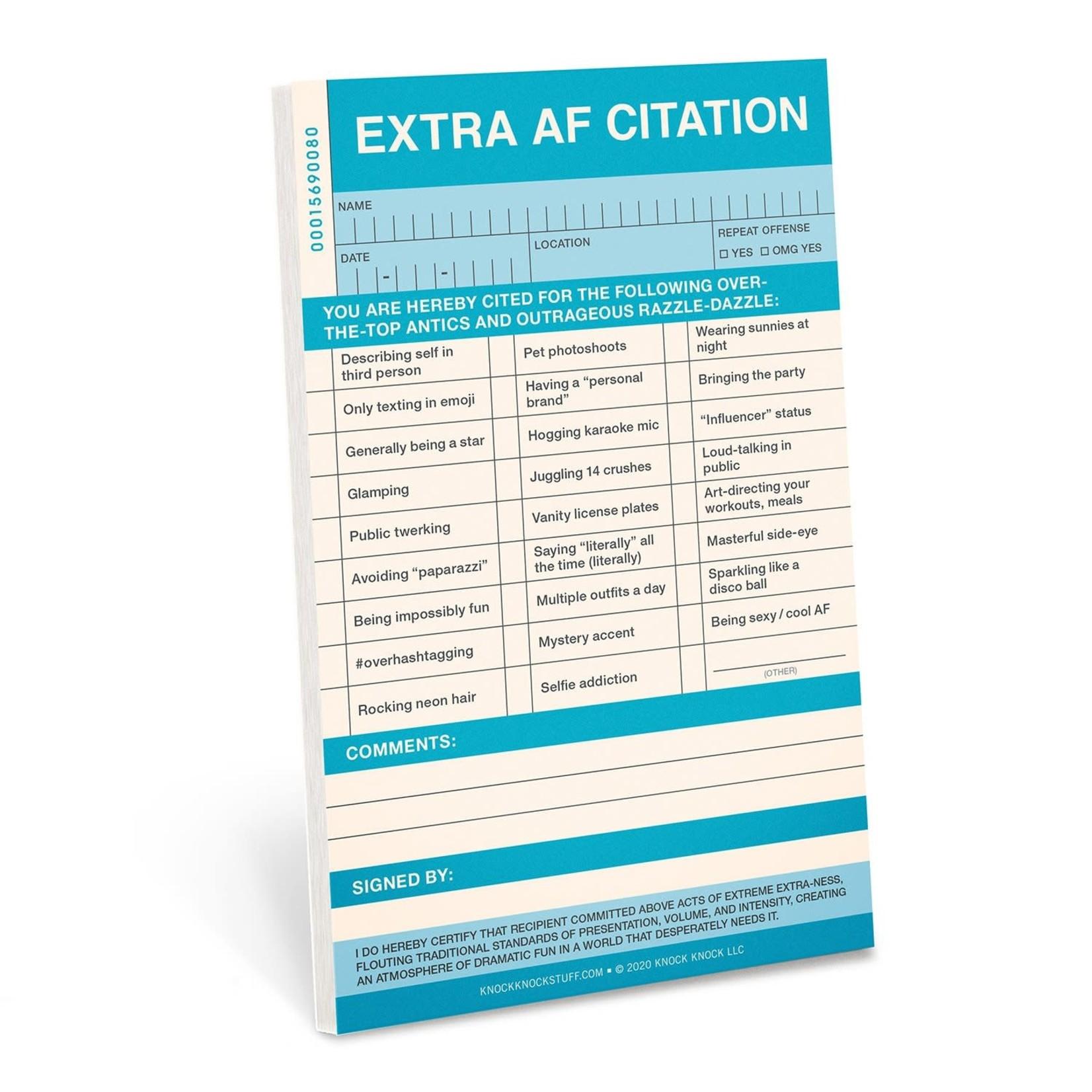Nifty Notes & Citations