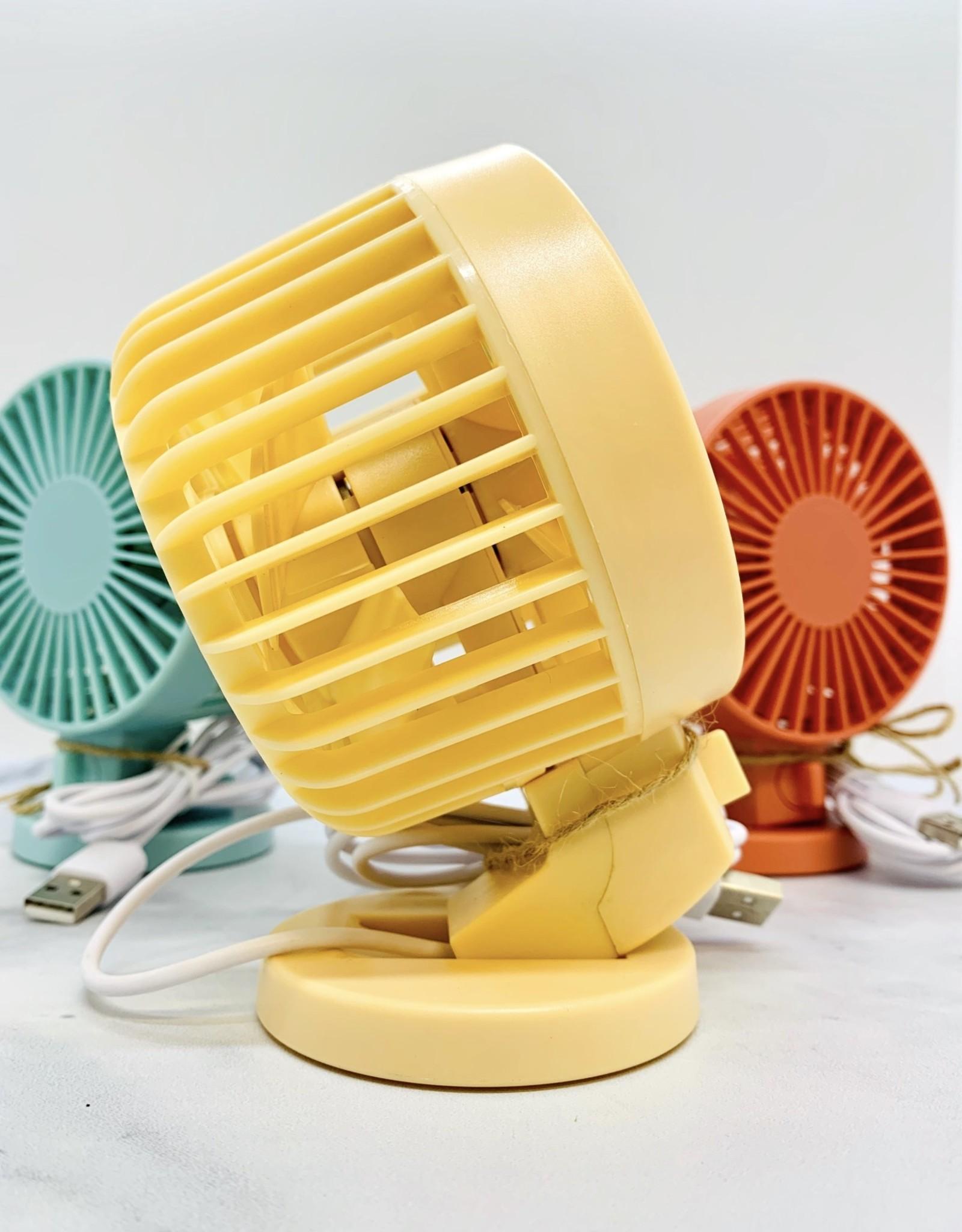 STREAMLINE Dual Turbo Desk Fan USB Cable