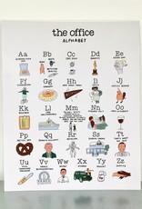 The Office Alphabet Print