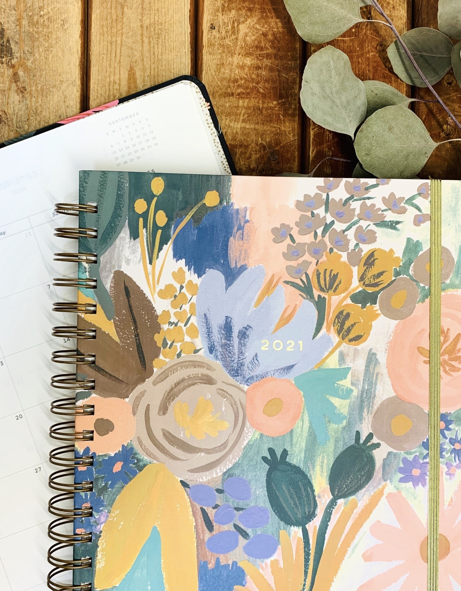 Rifle Paper 2021 Hardcover Spiral Planner