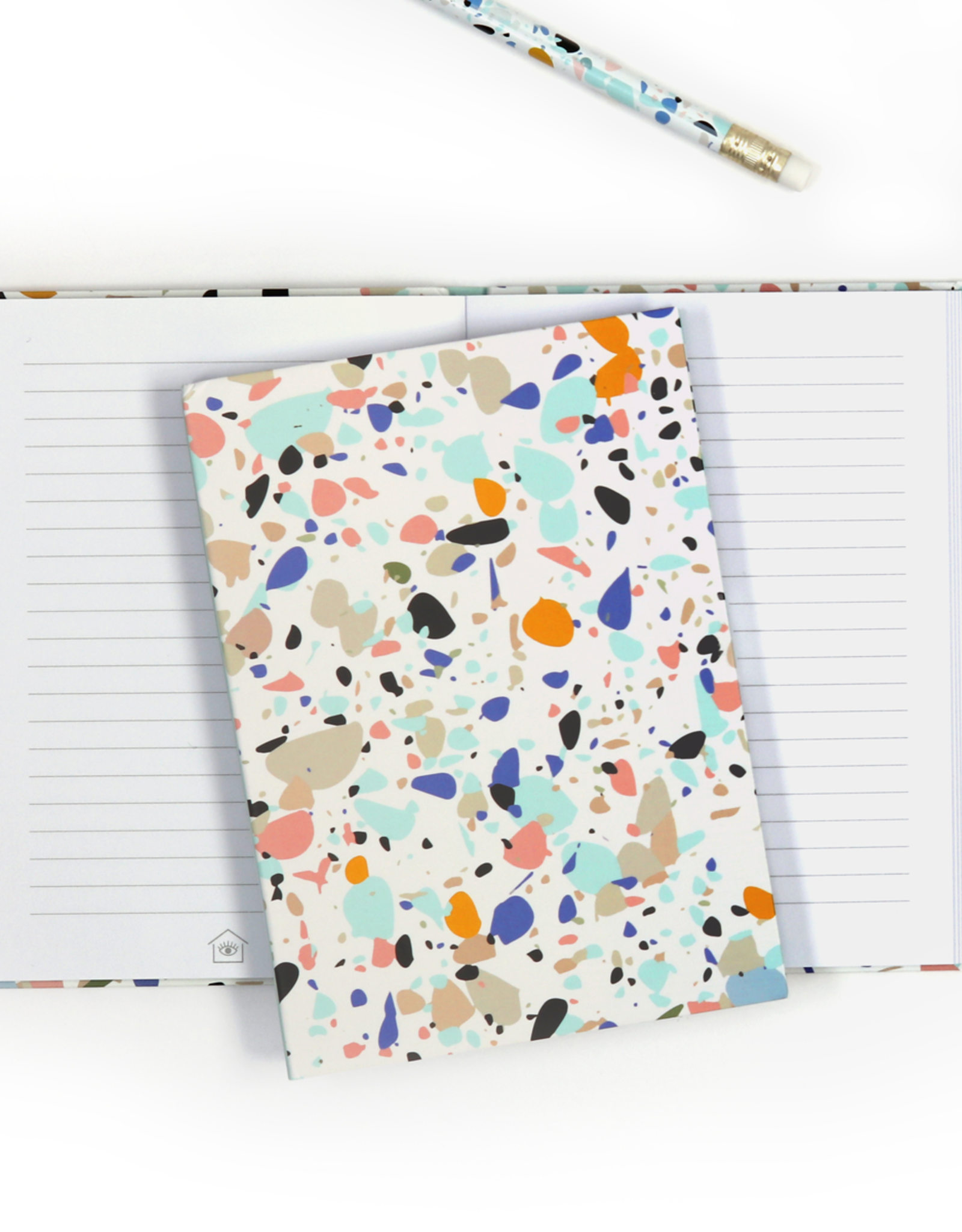 Now House by Jonathan Adler A6 Terrazzo Notebook