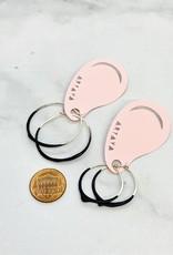 Drip Hoop Earrings